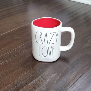Rae Dunn CRAZY LOVE Mug ❤☕